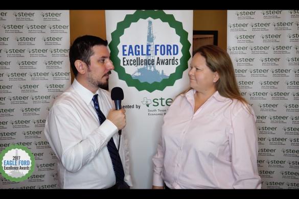 Eagle Ford Excellence Awards 2017 - David Blackmon & Danielle Hale