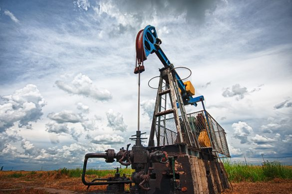 Oil pump. Oil industry equipment. Oil Industry Update